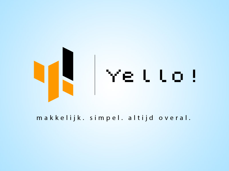 Yello! SMS Logo Design